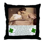 Tribute to Mother Throw Pillow