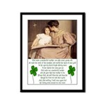 Tribute to Mother Framed Print