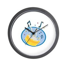 DRUMS (1) Wall Clock
