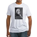 Music, Genius and Mozart Fitted T-Shirt