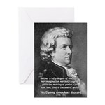 Music, Genius and Mozart Greeting Cards (Package o