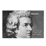 Music, Genius and Mozart Postcards (Package of 8)