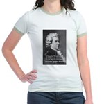 Music, Genius and Mozart Jr. Ringer T-Shirt