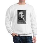 Music, Genius and Mozart Sweatshirt