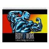 New! BODY OF WORK 2011 Wall Calendar