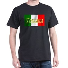 Tuscany Black T-Shirt