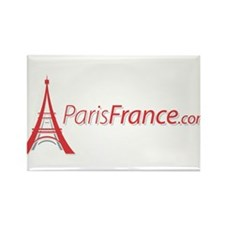 Paris France Original Merchan Rectangle Magnet (10