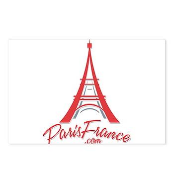 Paris France Original Merchan Postcards (Package o
