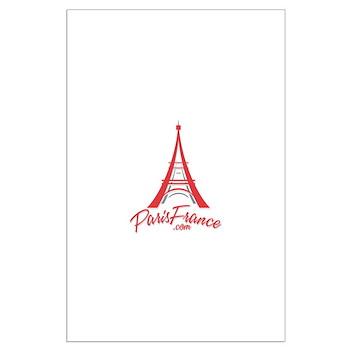 Paris France Original Merchan Large Poster