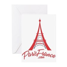Paris France Original Merchan Greeting Cards (Pk o