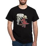 Pteva Black T-Shirt