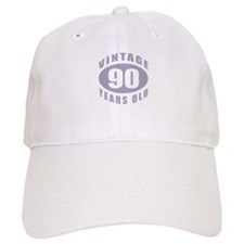 90th Birthday Gifts For Him Baseball Cap