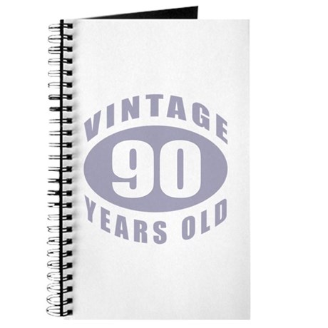 90th Birthday Gifts For Him Journal