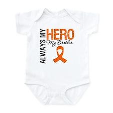 Leukemia Hero Brother Infant Bodysuit