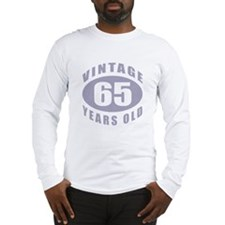 65th Birthday Gifts For Him Long Sleeve T-Shirt