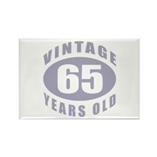 65th Birthday Gifts For Him Rectangle Magnet