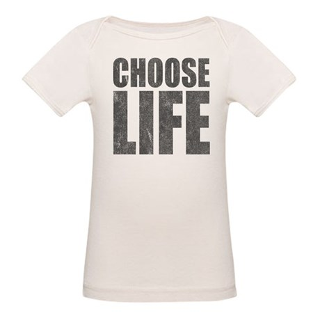 Choose Life Organic Baby T-Shirt