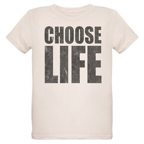 Choose Life Organic Kids T-Shirt