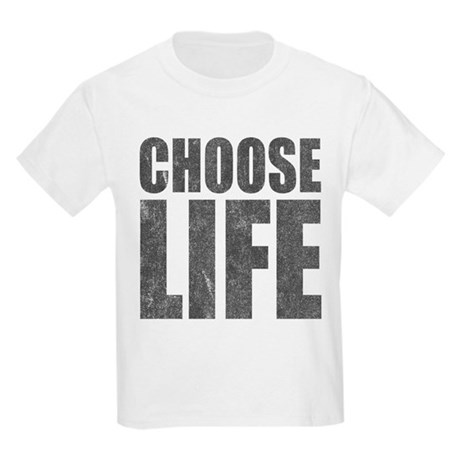 Choose Life Kids Light T-Shirt