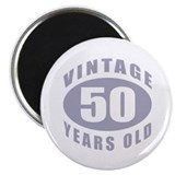 "50th Birthday Gifts For Him 2.25"" Magnet (10 pack)"