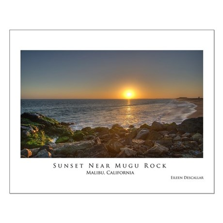 California Coast - PCH Small Poster