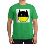 bat smiley Men's Fitted T-Shirt (dark)