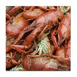 Crawfish Tile Coaster