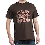 Pretty Pink Sweet 16 Dark T-Shirt