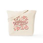 Pretty Pink Sweet 16 Tote Bag