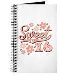 Pretty Pink Sweet 16 Journal