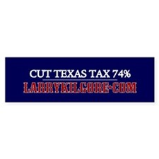 Cut Texas Tax Bumper Bumper Sticker