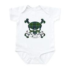 Keith Tartan Skull Infant Bodysuit