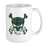 Keith Tartan Skull Mug