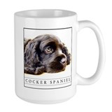 Large-Sized Black Cocker Spaniel Lover's Mug