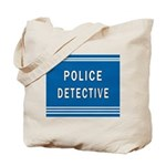 Police Detective Blues Tote Bag