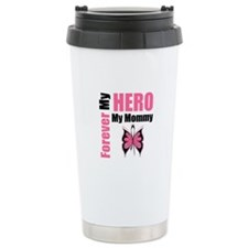 BreastCancerHero Mommy Ceramic Travel Mug