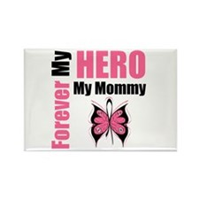 BreastCancerHero Mommy Rectangle Magnet (100 pack)