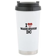 I Love Washington DC Ceramic Travel Mug