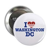 "I Love Washington DC 2.25"" Button"