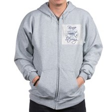 Brave Smart Strong Zip Hoodie