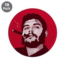 "Unique Fidel 3.5"" Button (10 pack)"