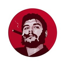 "Unique Fidel 3.5"" Button"