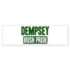 Dempsey irish pride Bumper Bumper Sticker