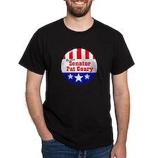 SENATOR PAT GEARY - Black T-Shirt