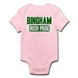 Bingham irish pride Infant Bodysuit