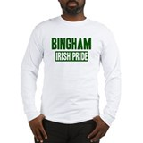 Bingham irish pride Long Sleeve T-Shirt
