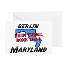 berlin maryland - been there, done that Greeting C
