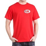 Black Oval LB Logo T-Shirt