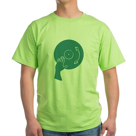 How To Scratch Green T-Shirt