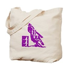 Barrel Racing Tote Bag